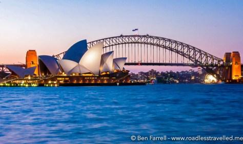 Sydney Harbour Night-1
