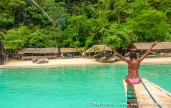 Island hopping in Coron, Philippines