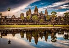 Ancient Angkor Wat, Cambodia.