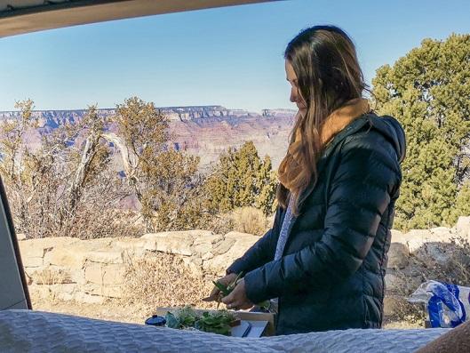 Cuisiner au Grand Canyon