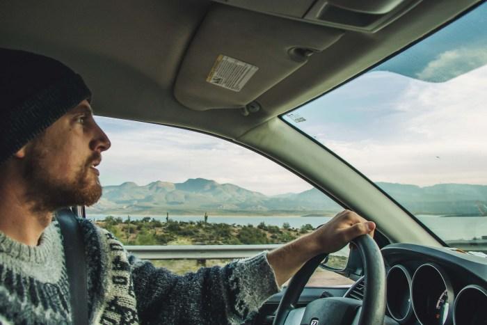 RoadLoft sur la route de l'Arizona