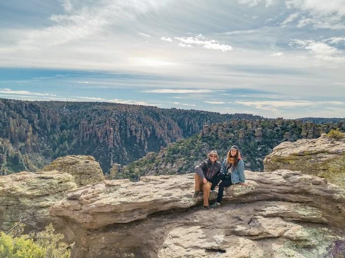 Les pinacles de l'Arizona