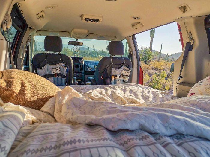 boondocking en arizona avec roadloft