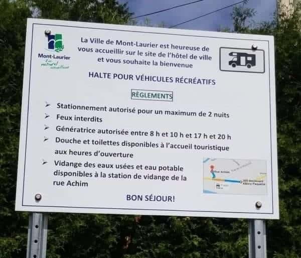 Mont-Laurier : municipalité vanfriendly