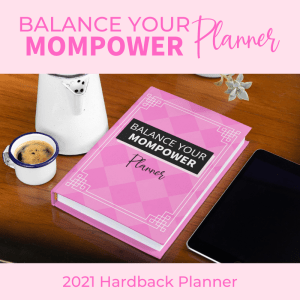 product image for the balance your mompower planner