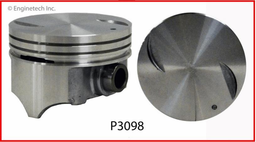 6 STD Piston AMC 4.0L 242 Enginetech P3071