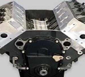 Chevy 8.1L long block engine