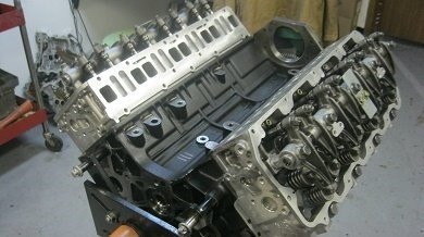 Chevy Duramax 6.6l engine