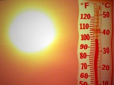 sweltering summer heat