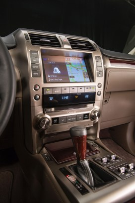 new 8-inch touch screen