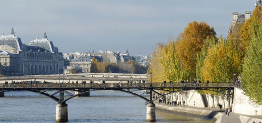 Сена. Мост Искусств