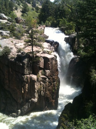 Wyoming-waterfall-