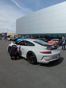 Porsche 991 GT3 on Porsche&Coffee at Porsche Rive Sud Montreal for Road Rug Cars RoadRugCars Galiffi Brothers Cars