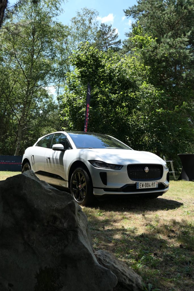 Jaguar I-Pace in the woods road rug cars roadrugcars brothers car voiture auto automobile vintage car super car hyper car