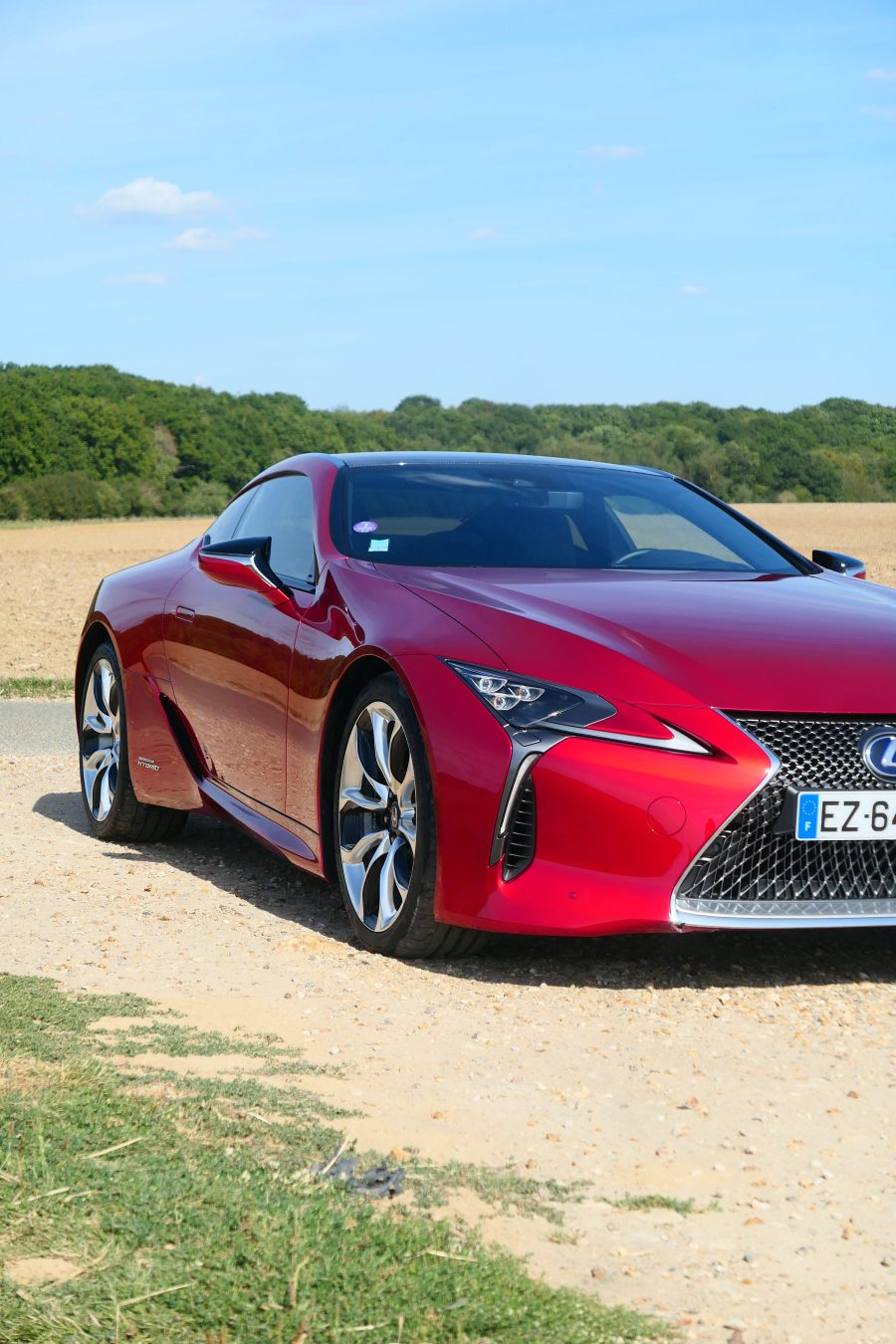 roadrugcars road rug cars lexus LC 500 h LC500h red body
