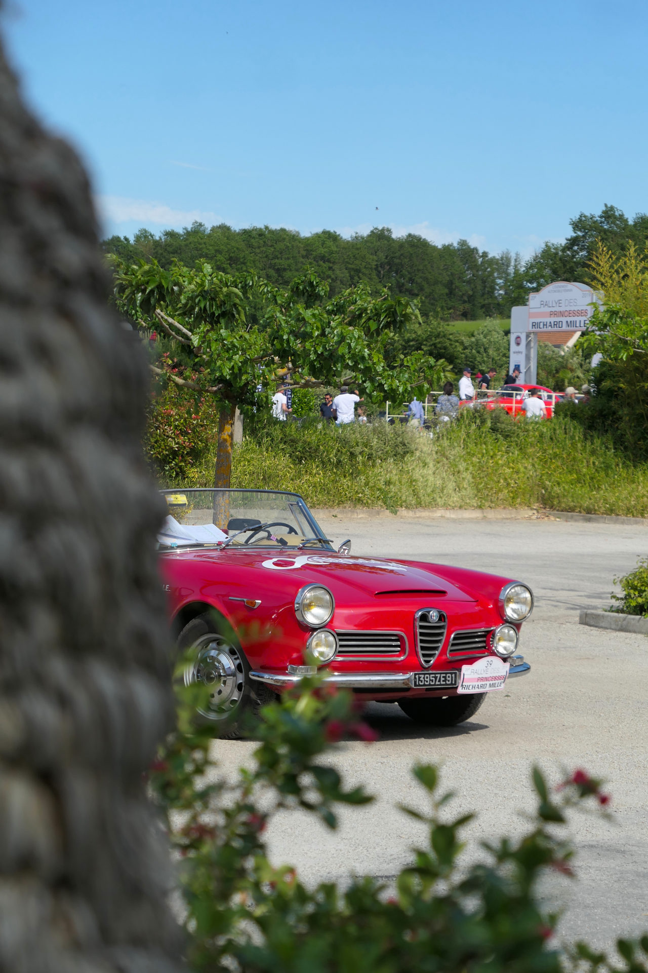 roadrugcars road rug cars rallye des princesses 2019 alfa romeo 2600 spider touring grille