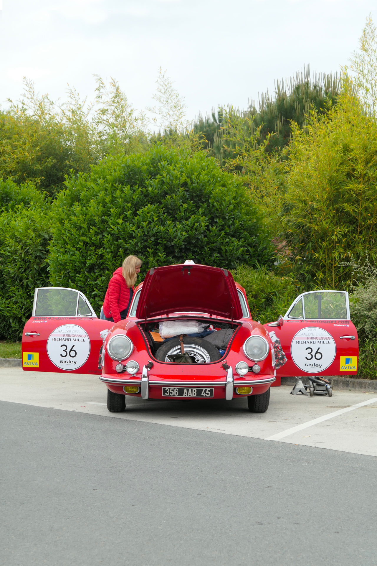 roadrugcars road rug cars rallye des princesses 2019 porsche 356 open