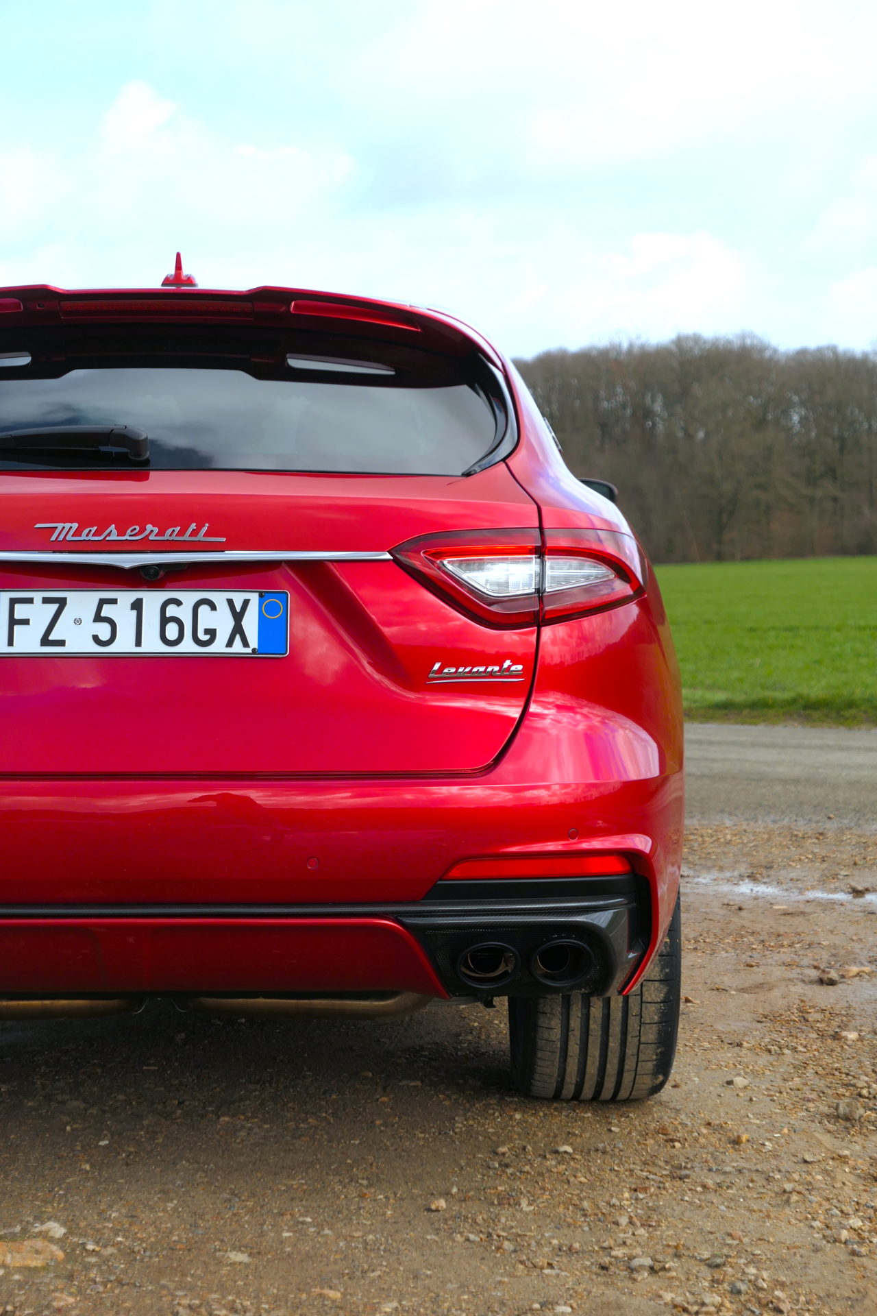 roadrugcars road rug cars maserati levante trofeo rear detail