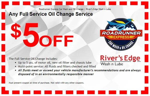$5 OFF Oil Change Coupon