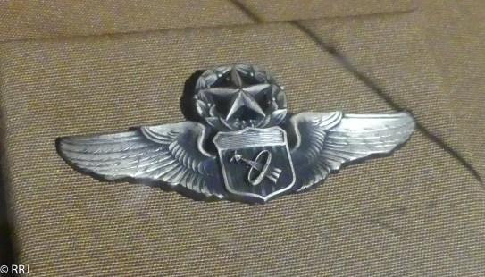 Astronaut Pin, Museum of Aviation, Warner Robins, GA