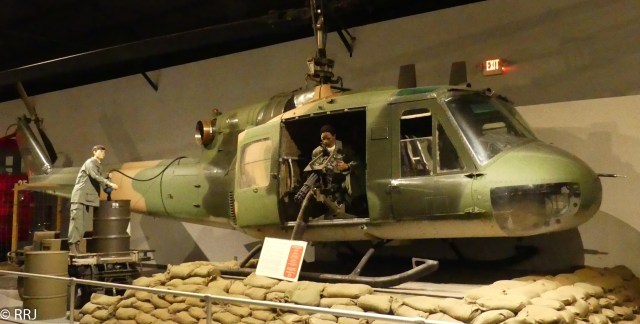 Iroquois Helicopter, Museum of Aviation, Warner Robins, GA