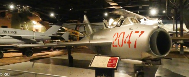 MIG-17, Museum of Aviation, Warner Robins, GA