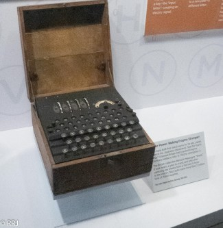 The Enigma decoding machine