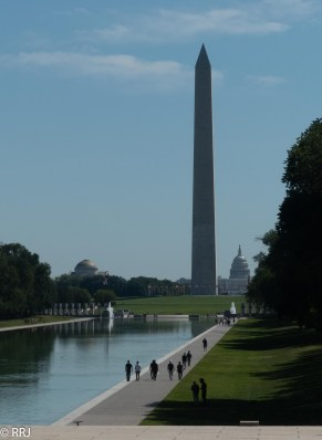 The Reflecting Pool on the National Mall