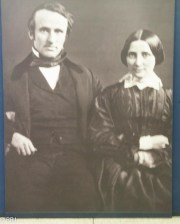 Ruddy and Lucy as a young couple