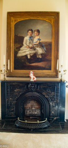 Fireplace at Stanton Hall
