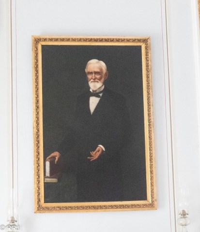 Portrait of Jefferson Davis at Beauvoir Biloxi Mississippi