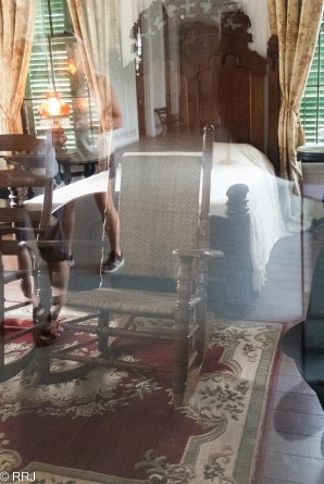 Jefferson Davis rocking chair at Beauvoir