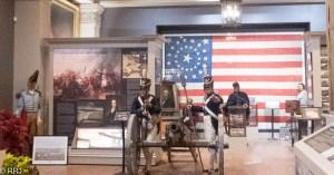 Great River Road Museum Civil War Display
