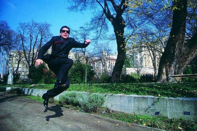 Leaping Leonard Cohen