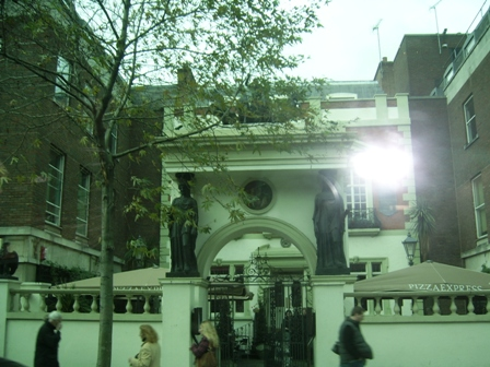 The Pheasantry on Kings Road Chelsea, home to Martin Sharp and Germaine Greer among others