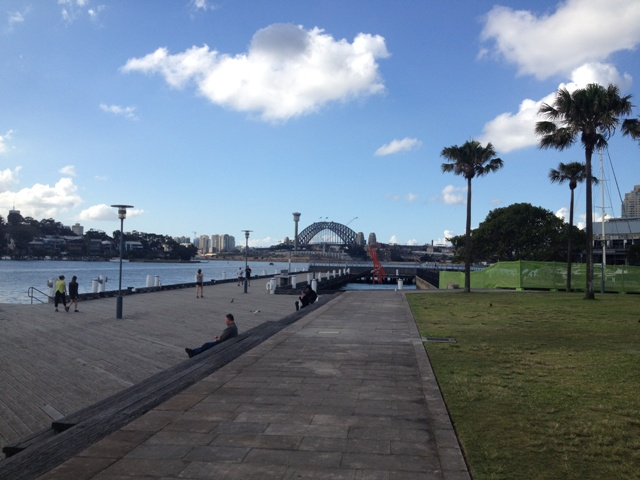 Pyrmont boardwalk