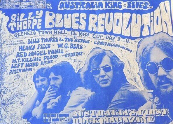 Blues Revolution Glenelg Town Hall