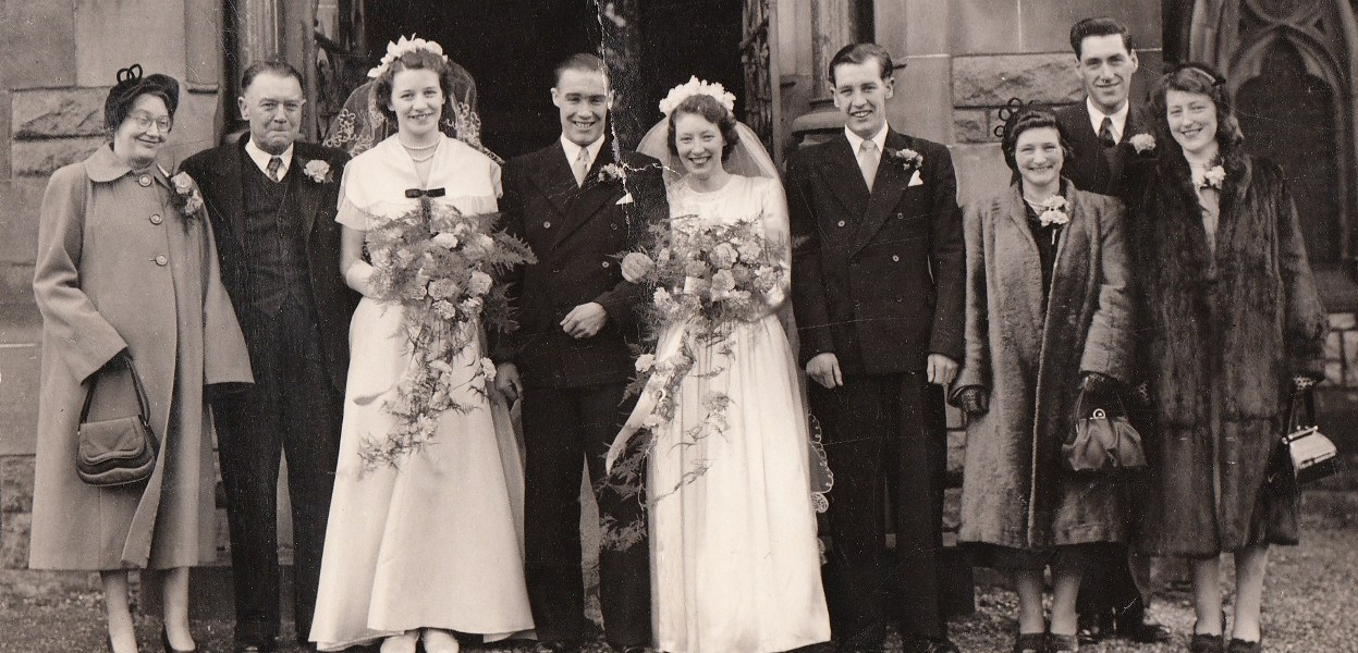 1952 Bridal party