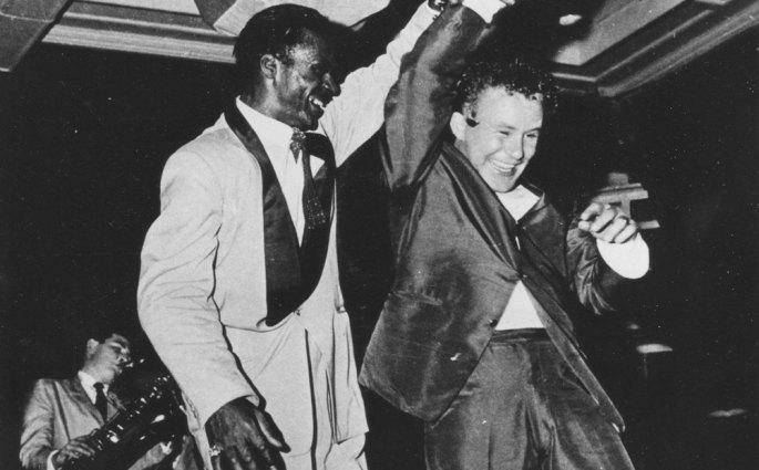 Chuck Berry anoints Johnny O'Keefe as Australia's Rock King