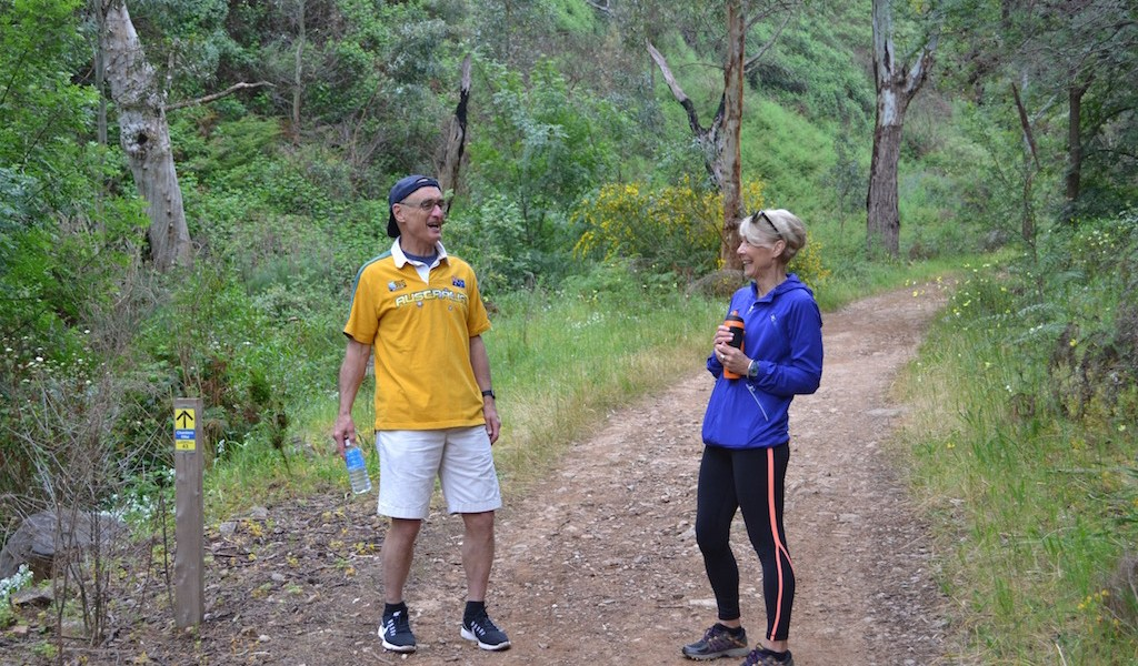 Chris and Diana in Chambers Gully