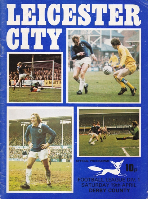 Leicester City program 1975
