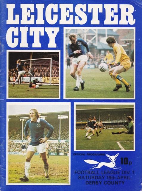Leicester City program 1975
