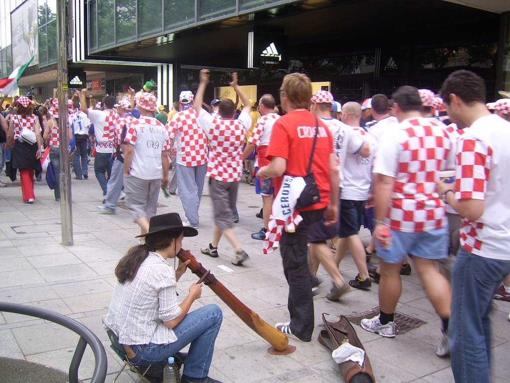 Croatia meets the didjeridu