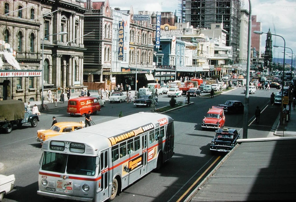King William St, Adelaide 1966