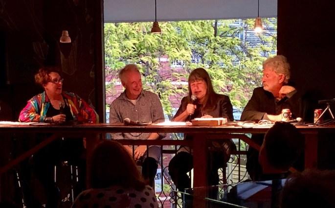 The panel - Collette, Donald, Suzy & John