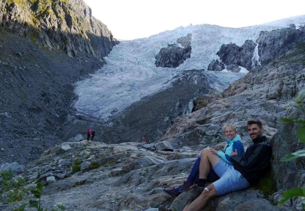 Buarbreen Gletscher