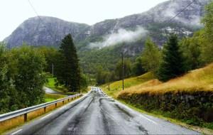 Norwegen Strasse