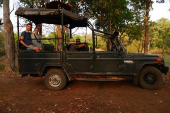 Safari in Indien