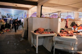 Markt in Sucre, Bolivien