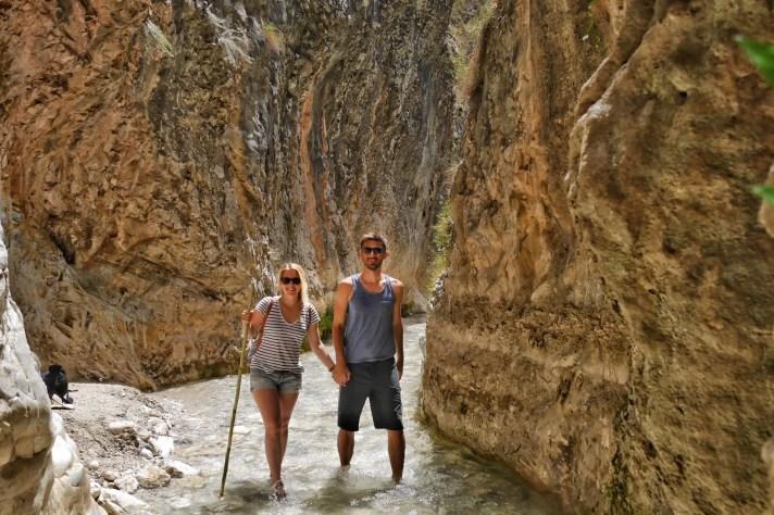 Rio Chillar Flusswanderung